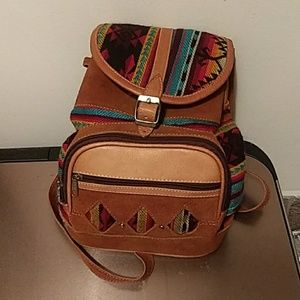 Made in Ecuador mini backpack